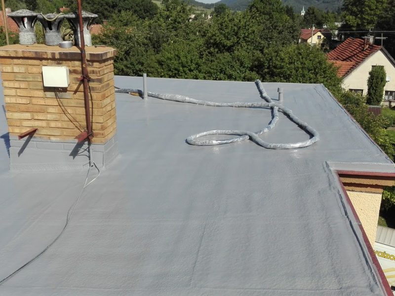 Hydroizolace ploché střechy - Návsí