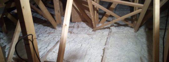 Izolace střechy Bungalovu
